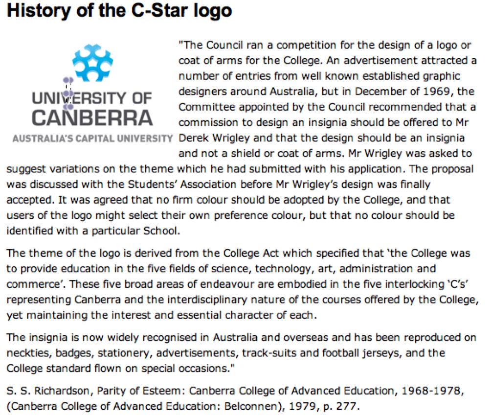 History of the C-Star logo